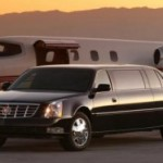 airport limo service - black stretch limousine in connecticut picture