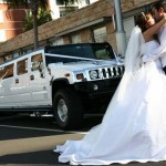Wedding Hummer Limo in CT image