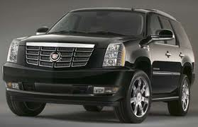 Cadillac Escalade SUV for CT to JFK airport service photo