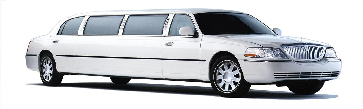 Image of CT Limo White Lincoln Limousine