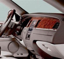 Image of interior of CT Limousine sedan