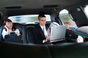 Business travel through CT limousines photo