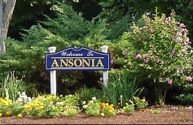 Picture of Ansonia city sign