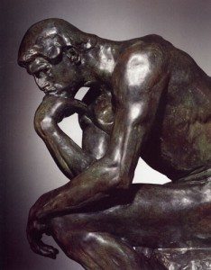 """""""The Thinker"""" gets Google and luxury limousine services take admirers to shows image"""
