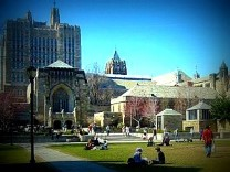 Image of Yale University campus