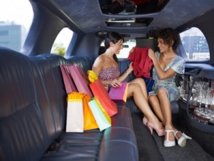 Shopping day in CT limo image