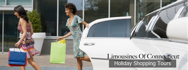 Holiday Shopping with Limo CT image
