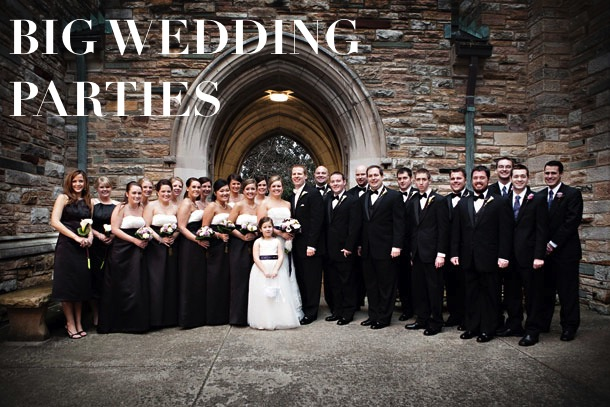 CT Big Wedding Party photo