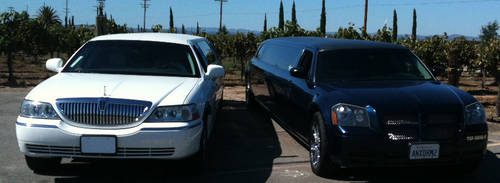 Your Choice White Or Black Limo in CT photo
