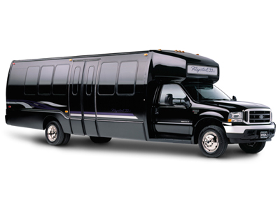 24 pass with disco ball/lights, stripper pole, bathroom, leather seating, sound system, privacy glass black photo