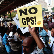 NYC Taxi Driver Upset of GPS Ruling