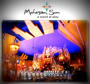 Image of Mohegan Sun Casino with a CT Limo