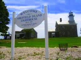 Image of Suffield Island Lighthouse Sign